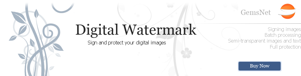 Watermarks on photos